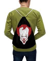 "Рюкзак-мешок с полной запечаткой """"IT"" Танцующий <b>клоун</b> ..."