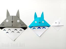 <b>Totoro</b> Corner Bookmark - Red Ted Art - Make crafting with kids easy ...