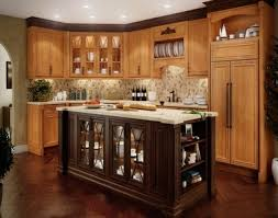 kitchen moldings: upper kitchen cabinet ideas kitchen upper cabinets with darker stained cabinet crown molding