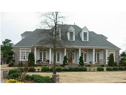 Mayfair Manor Southern Home Plan S    House Plans and MoreSouthern Country Home With Porch And Triple Dormers