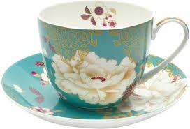 "<b>Чайная пара Maxwell &</b> Williams ""Кимоно"", цвет: бирюзовый, 480 ..."