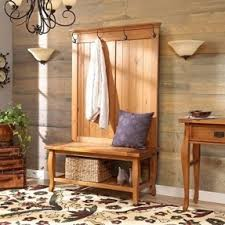 this minimalist and simple country style bench hall tree is a perfect item into any interiors amazing entryway furniture hall tree image