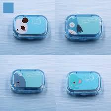 <b>COLOUR_MAX</b> Unisex Cartoon Contact Lenses Case For Eyes ...