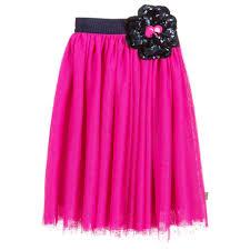 <b>LITTLE</b> MARC JACOBS - <b>Girls Pink Tulle</b> Skirt | Childrensalon Outlet