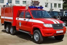 УАЗ для пожарных. 1000-литровый <b>резервуар для воды</b> ...