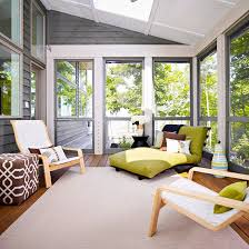 screen porch furniture ideas. porch decorating ideas contemporary styling in grays and greens brighten a screened screen furniture b