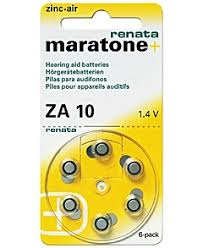 Батарейка Renata Maratone Plus ZA 10 1,4V для ... - BookPRO