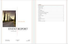 report templates microsoft word templates event report template
