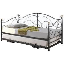 bedroom set metal trundle