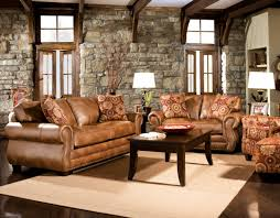leather chair living comfortable room