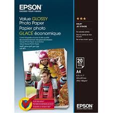 ≡ <b>Бумага</b> А4 для печати <b>Epson Value Glossy</b> Photo <b>Paper</b> A4 20 л ...