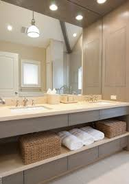 idea open concept on this master bathroom vanity a great way to make the bathroom magnificent contemporary bathroom vanity lighting style