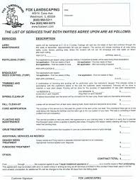 cover letter landscaping contracts forms landscaping forms and cover letter best photos of printable landscaping contracts sample landscape contract agreement templatelandscaping contracts forms extra