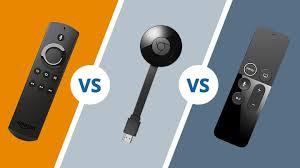 Amazon Fire <b>Stick</b> vs <b>Chromecast</b> vs Apple <b>TV</b>: Which is best?