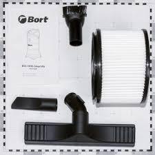 Строительный <b>пылесос Bort BSS-1630</b>-<b>SmartAir</b> 91272294 купить ...