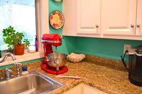 Turquoise Kitchen Red And Turquoise Kitchen Decor Homes Design Inspiration