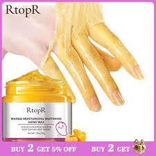 Увлажняющая <b>маска для рук с</b> отбеливающим воском манго ...
