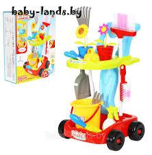 Детский <b>игровой набор для уборки</b> дома и сада 667-47, цена 49 ...