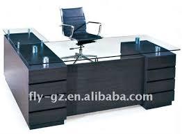 incredible blue glass top modern blue glass top modern office