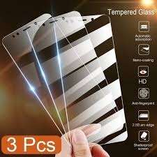 <b>3Pcs</b> Full Cover <b>Tempered Glass For</b> Xiaomi Redmi Note 7 9s 5 8 ...