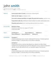cover letter template for  professional resume template free    resume template