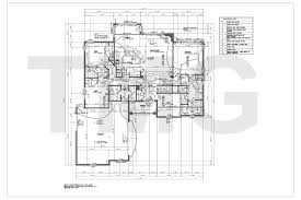 House Plans Drafting   The Magnum Group  TMG   India  Electrical Plan