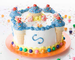 Decorated Birthday Cakes Decorate A Birthday Cake In Minutes Youtube
