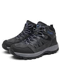 <b>AILADUN Men's High</b>-<b>top</b> Hiking Shoes <b>Outdoor</b> Sports Lace-up ...