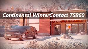 <b>Continental WinterContact TS</b> 860 - Preview - YouTube