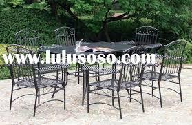 mesh patio furniture vintage wrought sets patio  wrought iron patio furniture patio