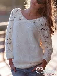 вязание 1: <b>пуловер женский</b> | Узоры для свитера, Модели ...