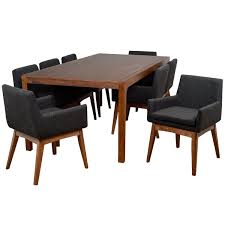 Von <b>9 Piece Solid</b> Wood Dining Set | AllModern