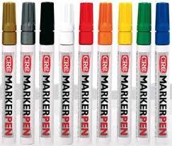 <b>CRC MARKER PEN</b>. Промышленные <b>маркеры</b> – 9 цветов ...