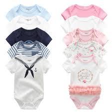 2019 8PCS/lot <b>Clothing</b> Sets <b>Cotton Newborn</b> Unicorn <b>Baby</b> Girl ...