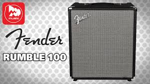 <b>FENDER</b> RUMBLE 100 - YouTube
