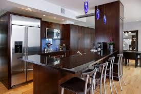 blue pendant lights kitchen contemporary interior designs with hardwood floors breakfast bar blue pendant lighting