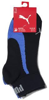 <b>Носки</b> унисекс Puma <b>Lifestyle Quarters</b>, 3 пары, цвет: синий ...