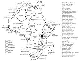 student zone a handout or worksheet for students to show the state of africa by the end of the scramble of africa in 1914