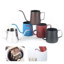 350/<b>250ML</b> Stainless Steel <b>Hand</b> Punch Pot <b>Coffee Pot</b> Drip ...