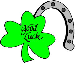 Image result for good luck clover clip art