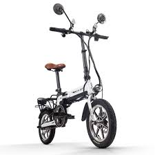 Rich Bit Ebike RT-619 14 Inch Folding Electric Bike 250W 36V 10.2 ...