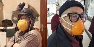 Необычные способы защиты от коронавируса попали на фото ...