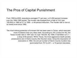 essay about capital punishment Against Capital Punishment Essays Research Paper Topic Against Capital Punishment