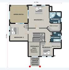 House plans  building plans and   house plans  floor plans from    floorplan upper
