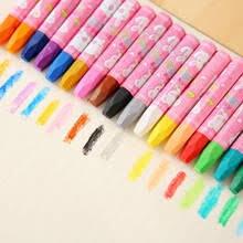12/18/24/36 цветов <b>восковые мелки</b>, ручки для рисования для ...