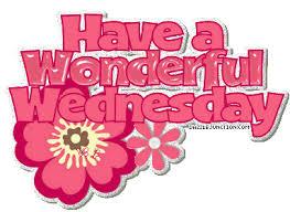 Wednesday morning!