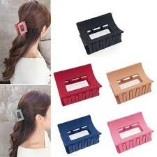 styling <b>fashion</b> Multicolour Plastic Hair Clutch/Claws/Clips Combo of ...