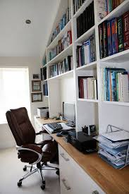 white bespoke fitted home office bespoke home office