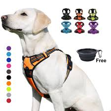 Truelove Dog Harness Small Large Durable Reflective Pet Harness ...