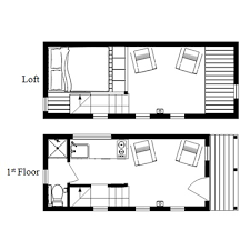 The McG Tiny House   Staircase Loft  Photos  Video and PlansMcG Loft Tiny House Floor Plan